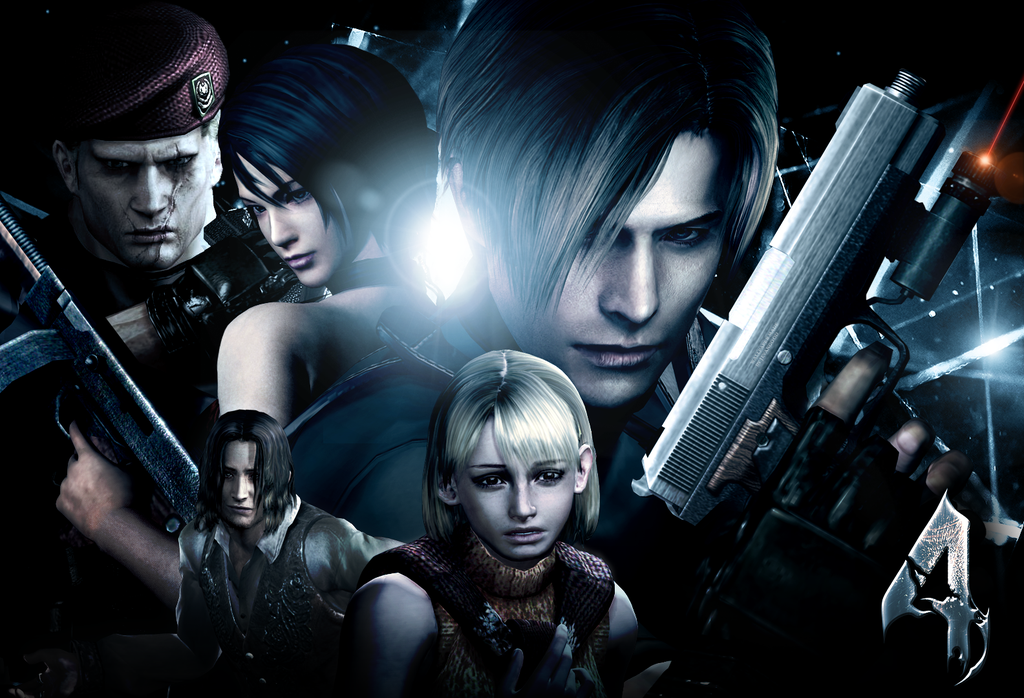 Resident Evil 4 Wallpaper By Jevangood On Deviantart Resident Evil Resident Evil Game Evil
