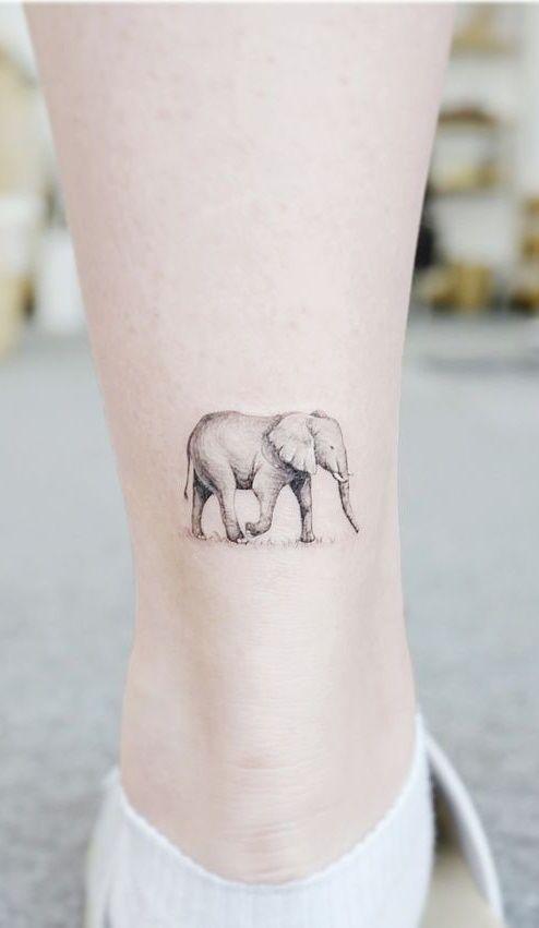 40 Tatuagens Femininas no tornozelo para se inspirar - Fotos e Tatuagens