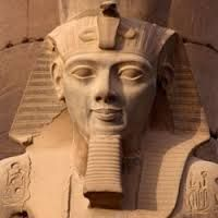 www.happyegypt.com Pharaoh Ramses II. Popular as Ramses the Great. 3rd Pharaoh of the 19th Dynasty. Father: Pharaoh Seti I. Mother: Queen Tuya. Popular Wife: Queen Nefertari. Children: Merenptah, Amunherkhepshef, Bentant etc. Age: 91 years. Rule: 66 years and 2 month. (1279-1213 BC). Successor: His Son Merenptah. Temples: Abu Simbel, Ramseeum, Karnak, Abydos, and Luxor temple.  #Egypt #holidayEgypt #Ramses #travel #holiday #vacation #tour #happyegyptravelservices