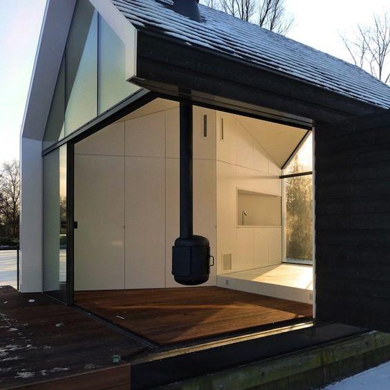 0088 Ferienhaus Haus Am See Lhvh Architekten: 2by4 Architekten Loosdrecht Island House