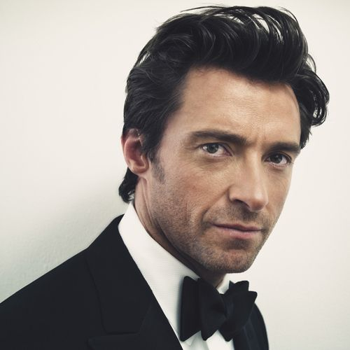 Hugh Jackman Haircut: Hugh Jackman. The First Man I Ever Saw In Nothing But