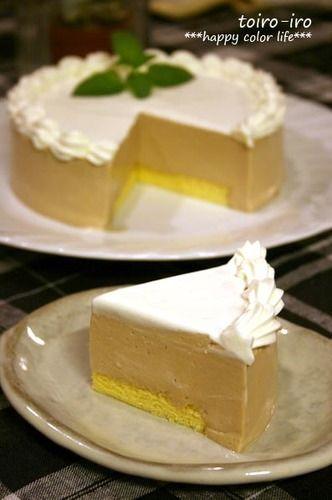 Bavarian Cream Cake