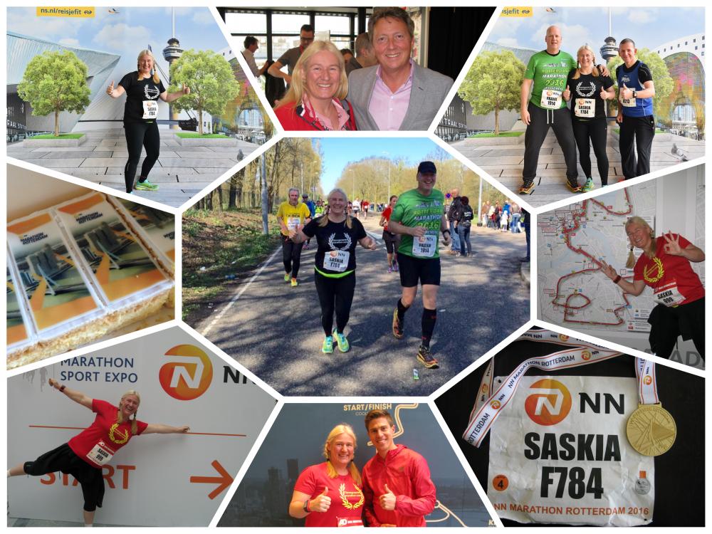 Rotterdam Marathon 2016. Een fijn pleuris eind!