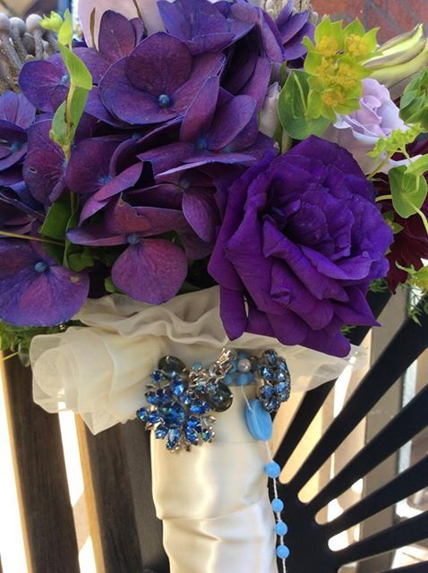 Don T Shy Away From Purple For Your Wedding Flowers Bold And Romantic It Is A Lovely Color Choice For Same Day Flower Delivery Flower Delivery Event Flowers