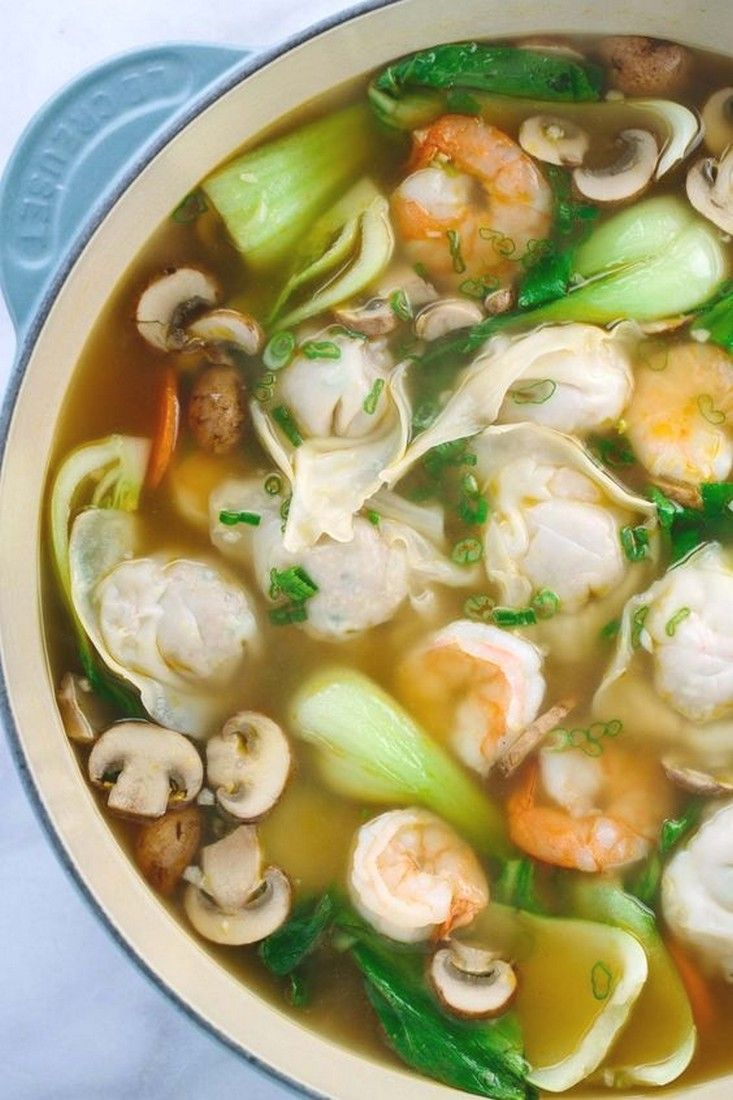 Homemade Wonton Soup | Soup Recipes Ideas