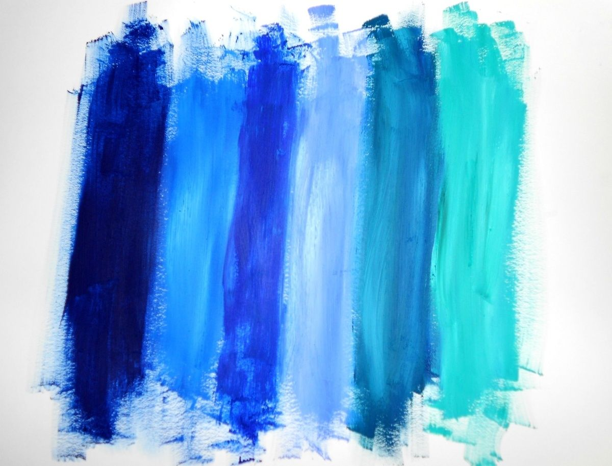 Blue Paint blue. | fashion painting, blue fashion and color inspiration