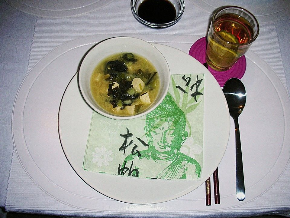 Miso - Suppe, ein sehr leckeres Rezept aus der Kategorie Eintopf. Bewertungen: 9. Durchschnitt: Ø 3,9.