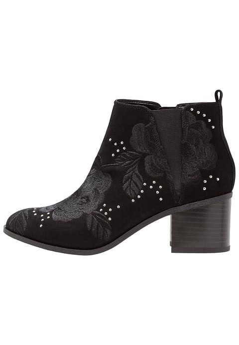 Chaussures New Look Wide Fit WIDE FIT BELLA - Boots à talons - black noir:
