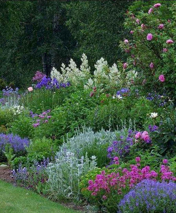 05 Schöne kleine Cottage Flowers Garden für Hinterhof-Ideen