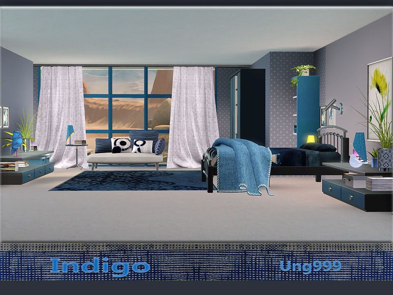 A modern bedroom set comes with 19 items. Found in TSR Category ...