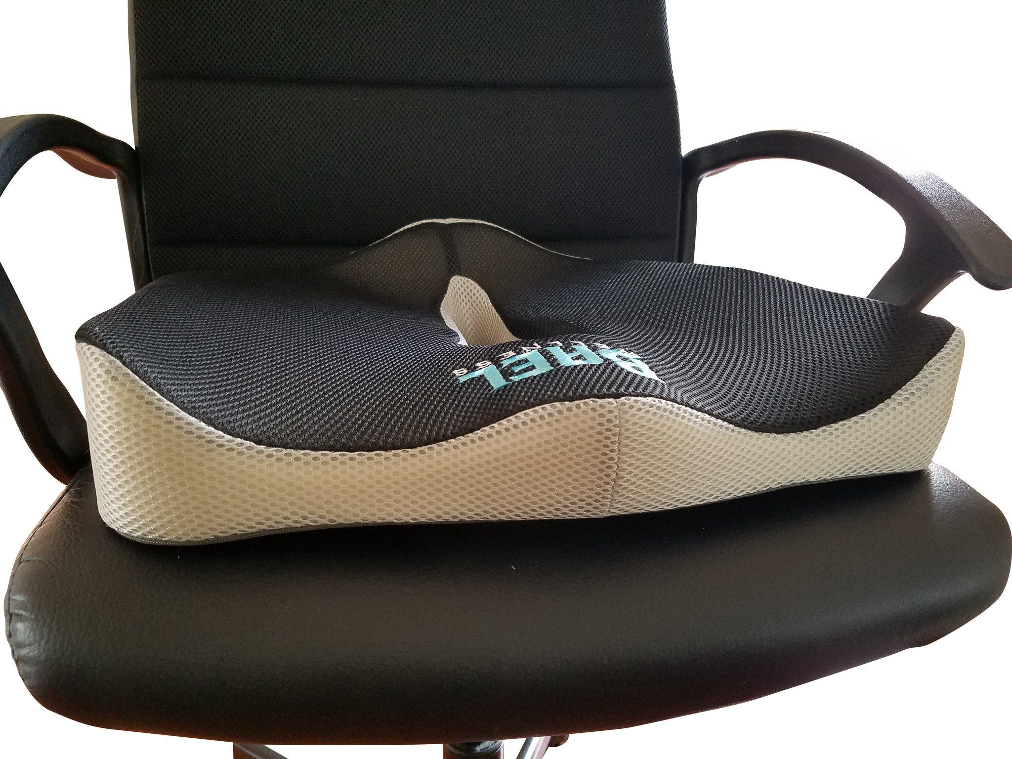 Coccyx & Tailbone Support Seat Cushion with Lumbar Support