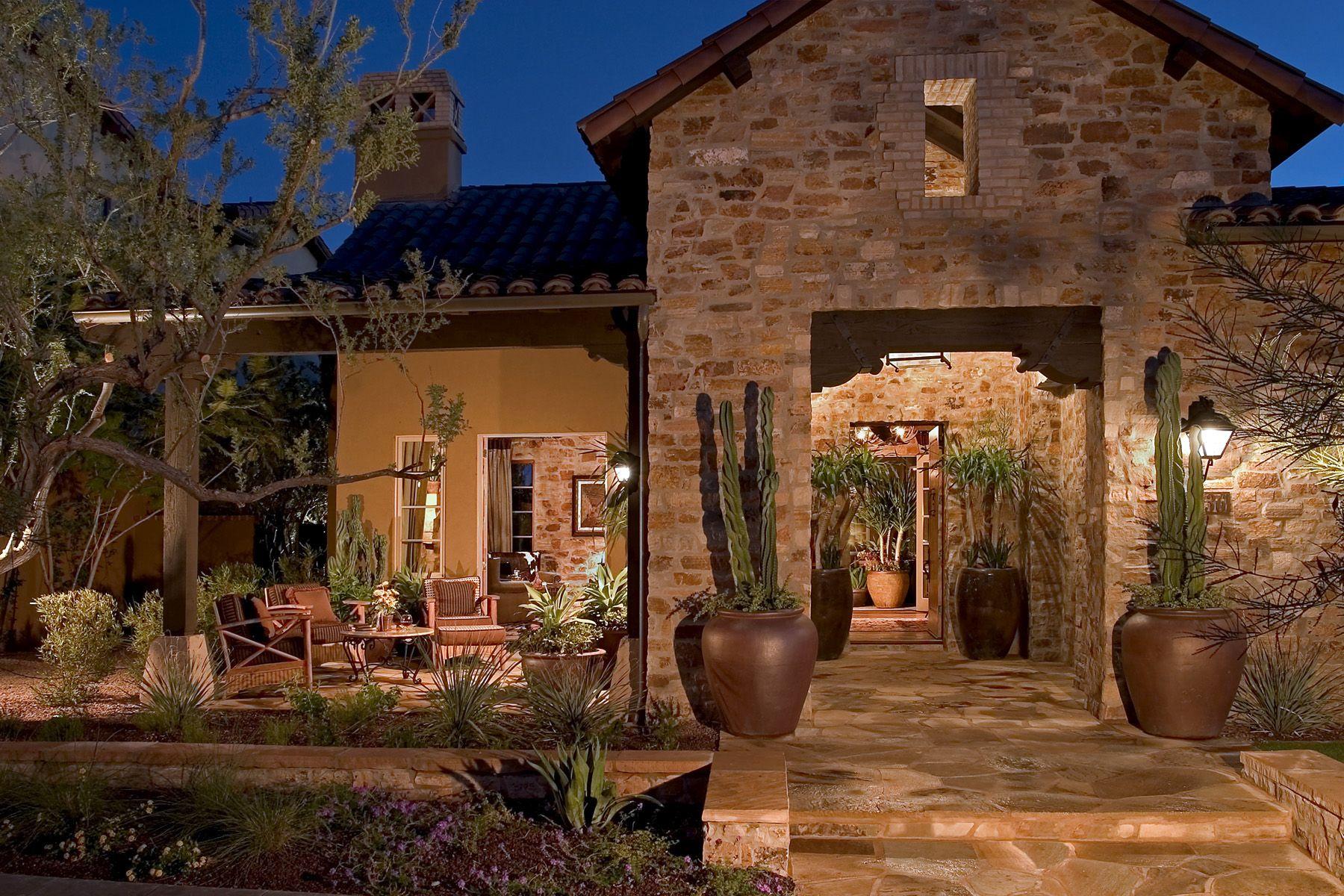 Best Kitchen Gallery: Plan 5 At Verandahs At Silverleaf In Scottsdale Az Outdoor Living of Scottsdale Arizona Home Builder on rachelxblog.com