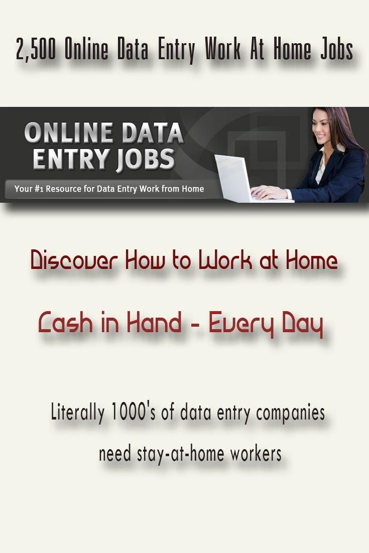 Cash in hand jobs home
