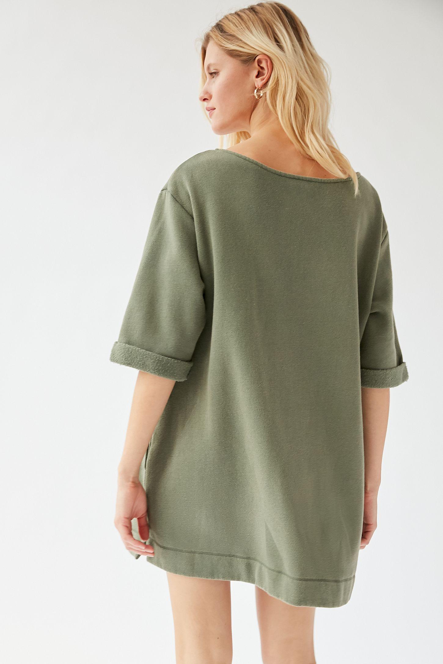UO Torino Sweatshirt Mini Dress 2