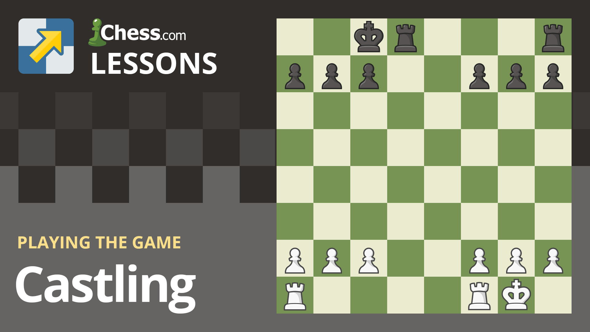 Chess Players Taking Their First Steps Are Often Confused About How To Castle This Special Move Is The Only Time You Can M In 2020 How To Play Chess Chess Rules Chess