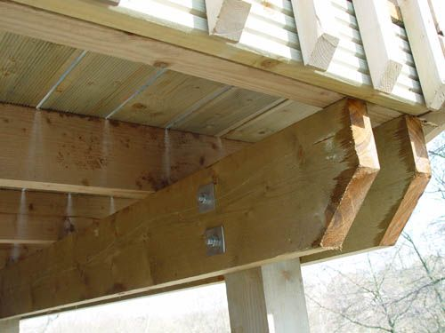 how to frame an elevated deck - Google Search | How to build my ...