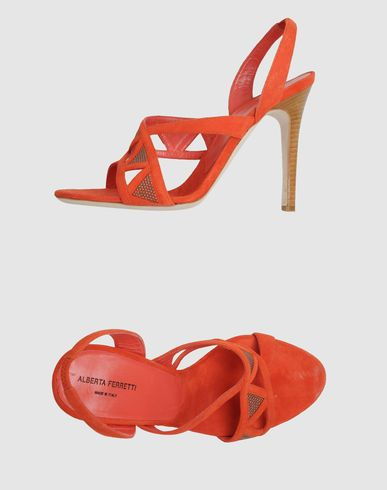 Shoes by Alberta Ferretti to go with the dress by Blue Les Copains