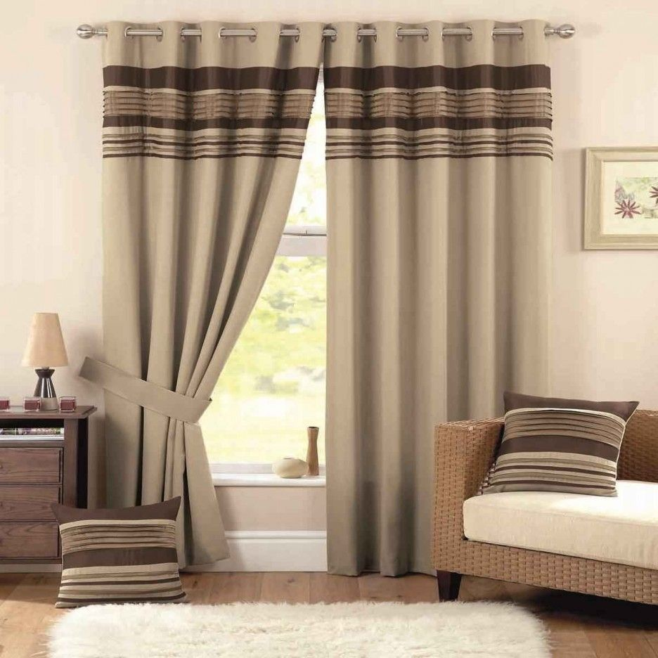 Light Brown Window Curtains Curtains Living Room Brown Curtains
