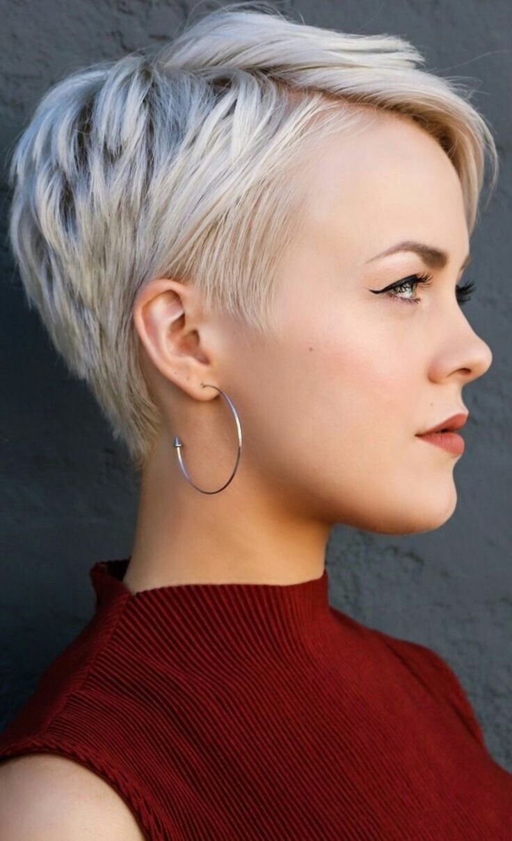 Pin by jen barnette on hair pinterest short hair pixies and