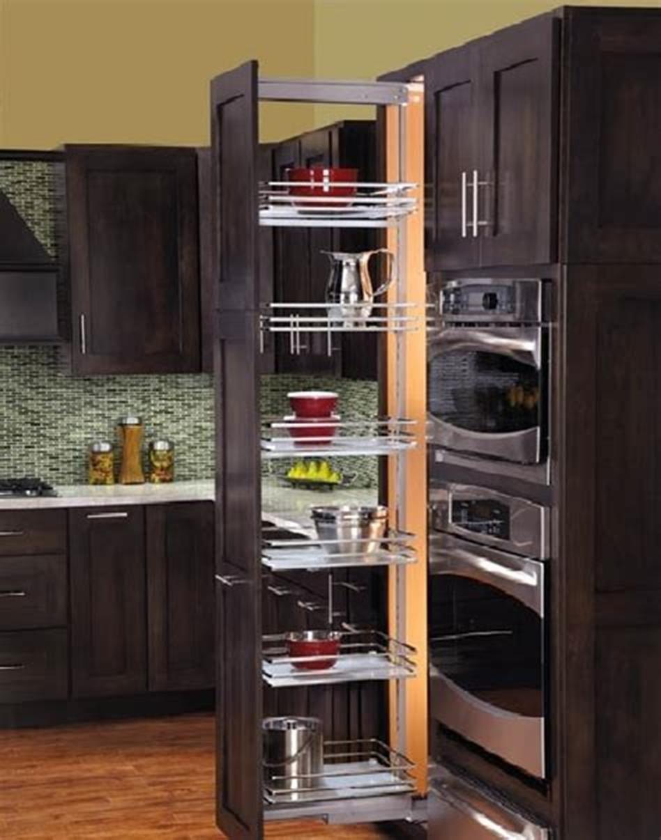 40 Diy Ideas Kitchen Cabinet Organizers Homenthusiastic Kitchen Cabinet Storage Small Kitchen Cabinets Ikea Kitchen Organization
