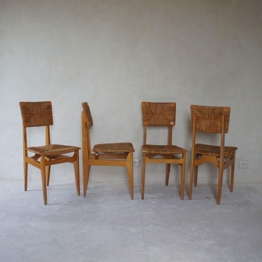 4 Chaises 1950 C Suite Ca De Gascoin Marcel EditArhec Modèle NO8nZ0kPXw