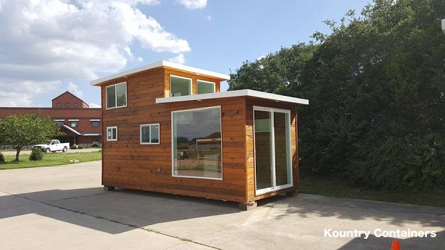 A Shipping Container Home Available For Sale Near Austin