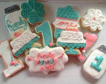shabby chic sugar cookies - Buscar con Google