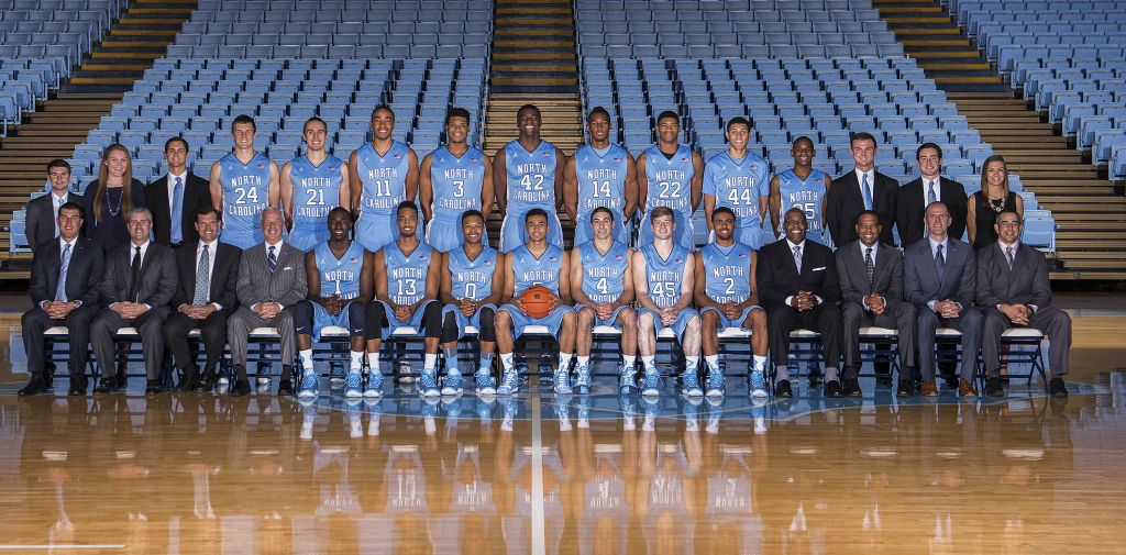 20142015 University of North Carolina Men's Basketball