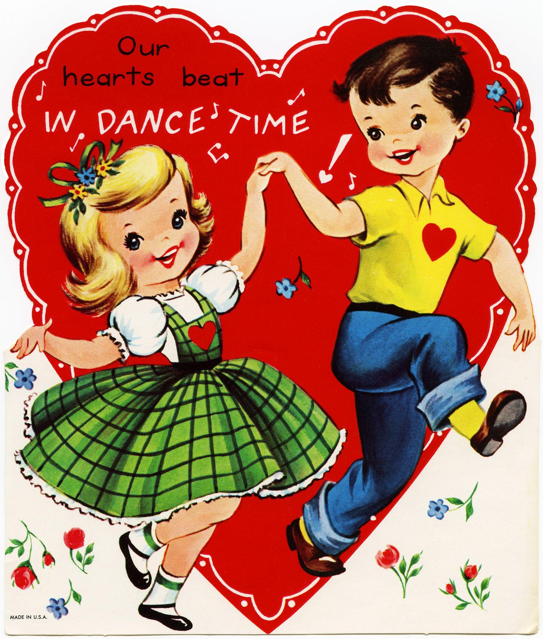 Old Design Shop free digital image vintage childrens Valentine – Childrens Valentine Cards