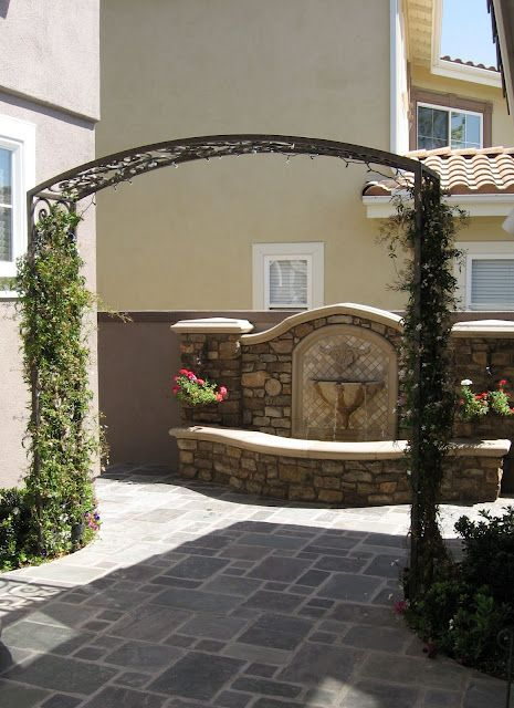 Wall Fountain Patio Plans The Great Outdoors Spanish