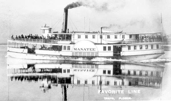 "Favorite Line steamboat ""Manatee"""