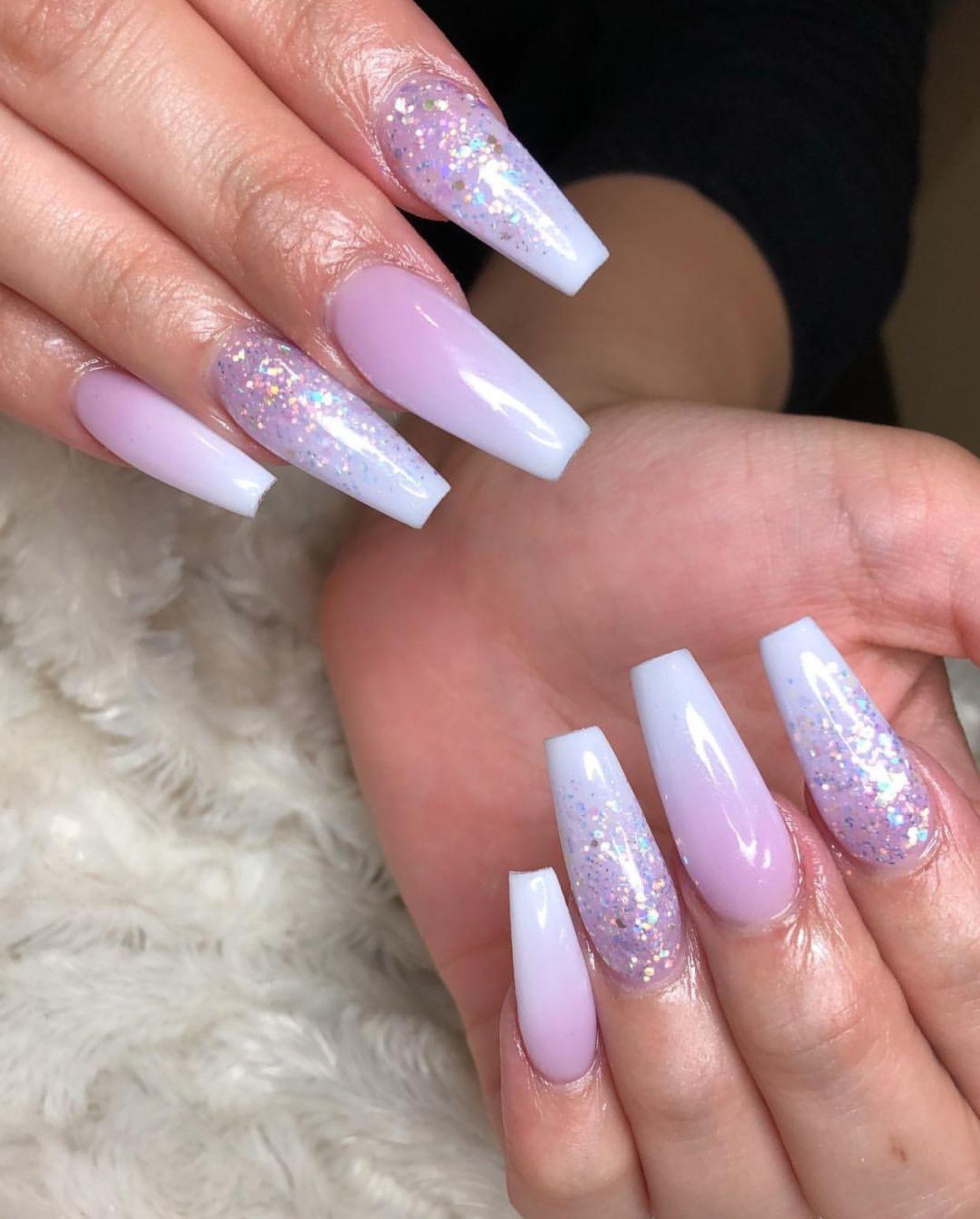 pin nia baby acrylic nails