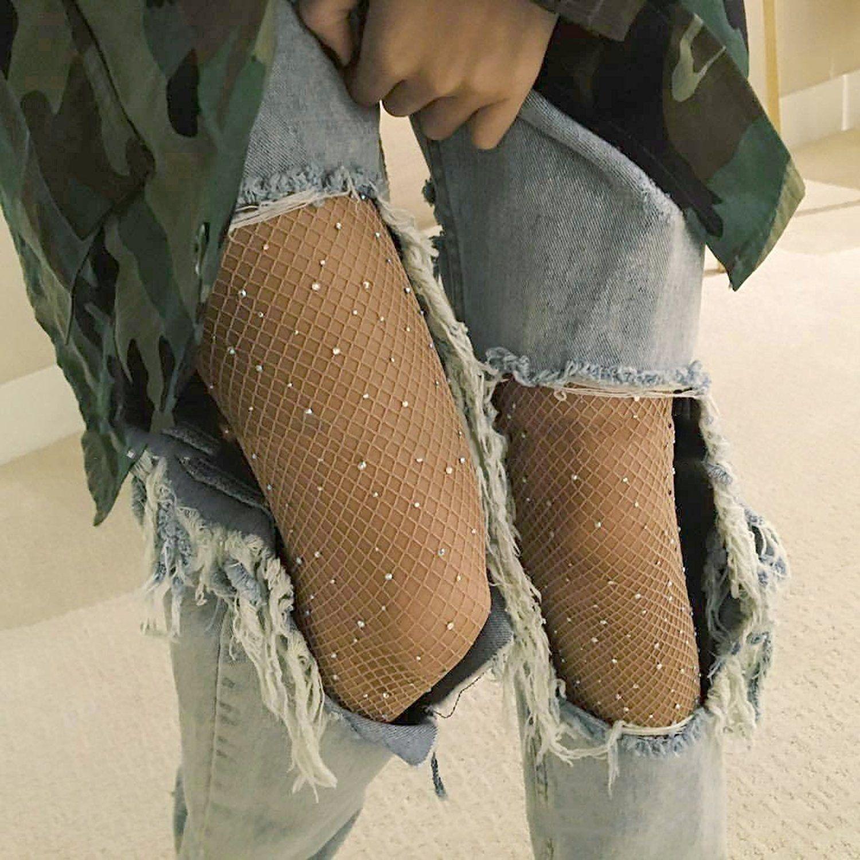Zerrissene strumpfhose