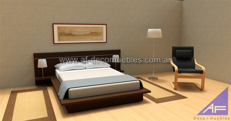 cama oriental con respaldo « AF Deco+muebles | te | Pinterest ...