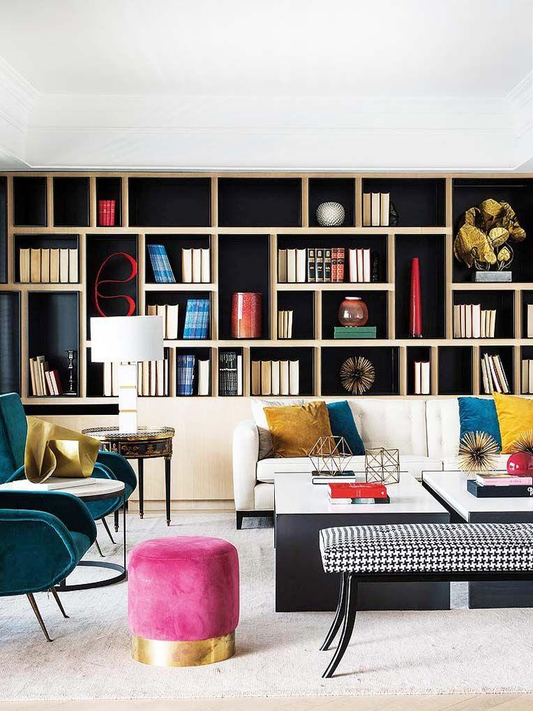 Pin On Dj Rc #shelves #design #in #living #room