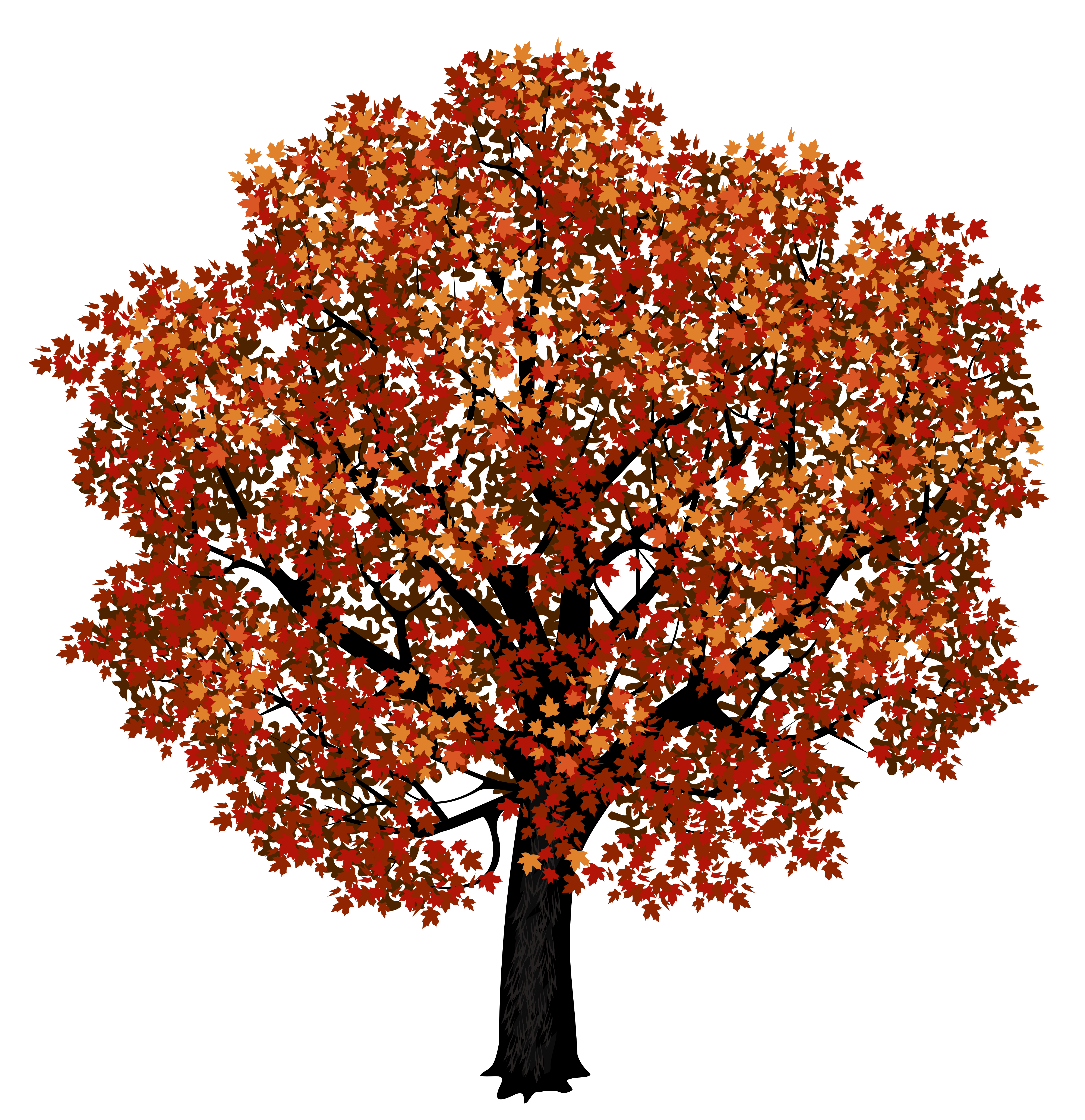 Red Maple Tree Png Clipart Picture Red Maple Tree Picture Tree Cartoon Trees