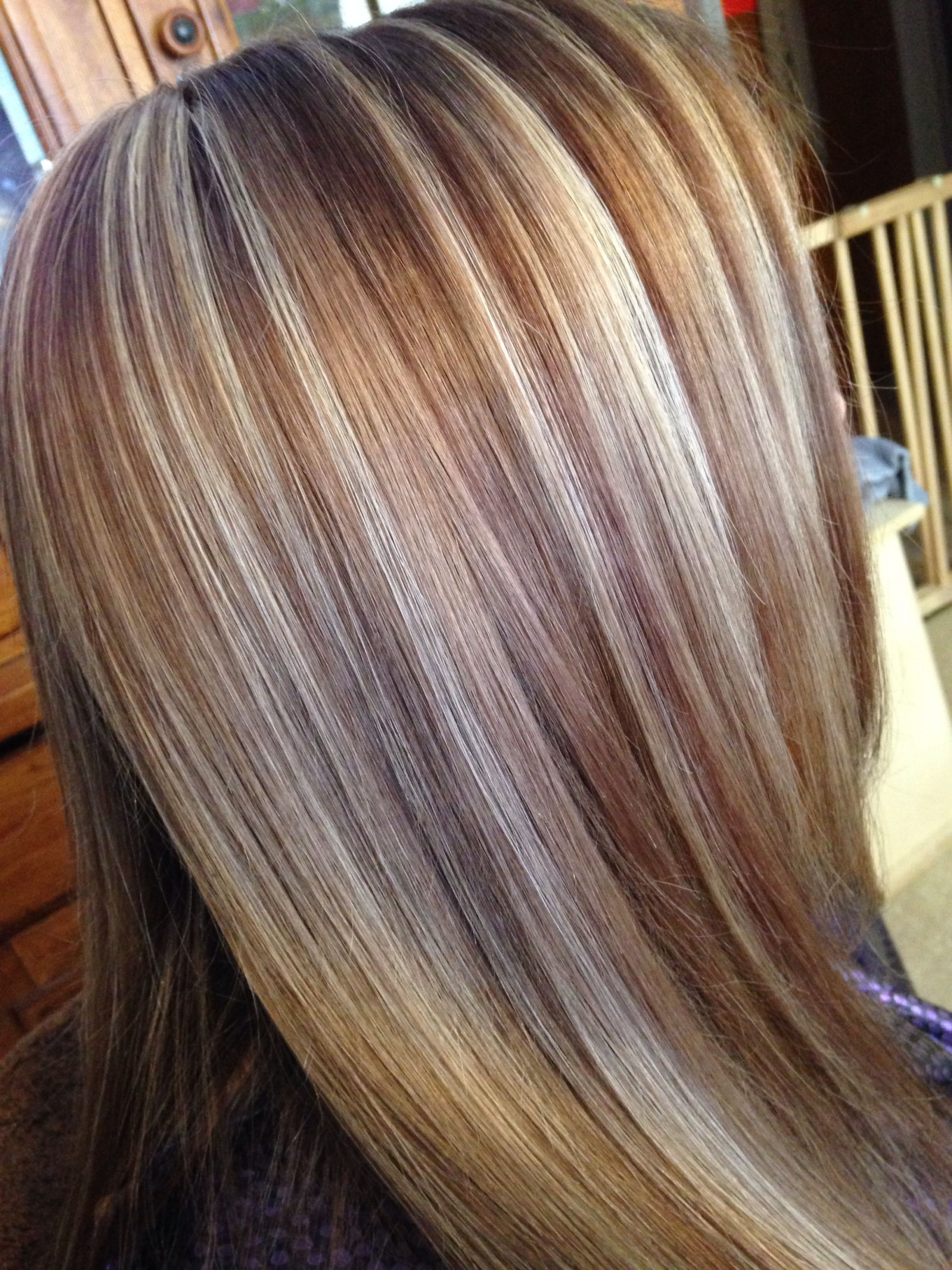 3 Color Hair Foiled