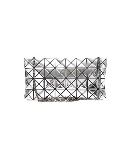 @Who What Wear - The upside to this metallic purse (besides the fact that it's cool and modern)? You can check your reflection without a trip to the bathroom.  Bao Bao Issey Miyake Lucent Prism Bag ($962)