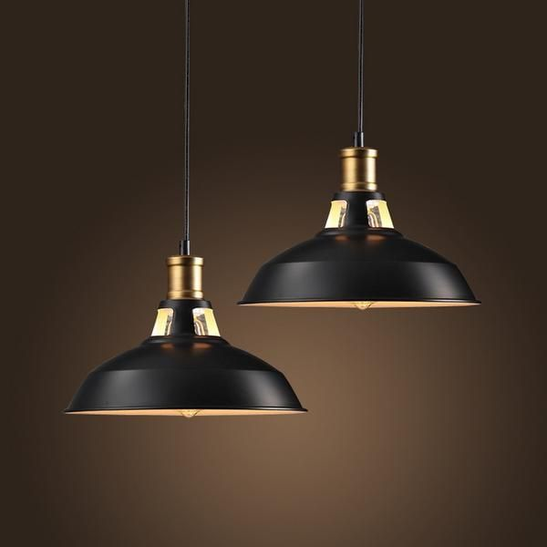 Inspired by warehouse converted space these industrial pendant lights will bring back that cozy