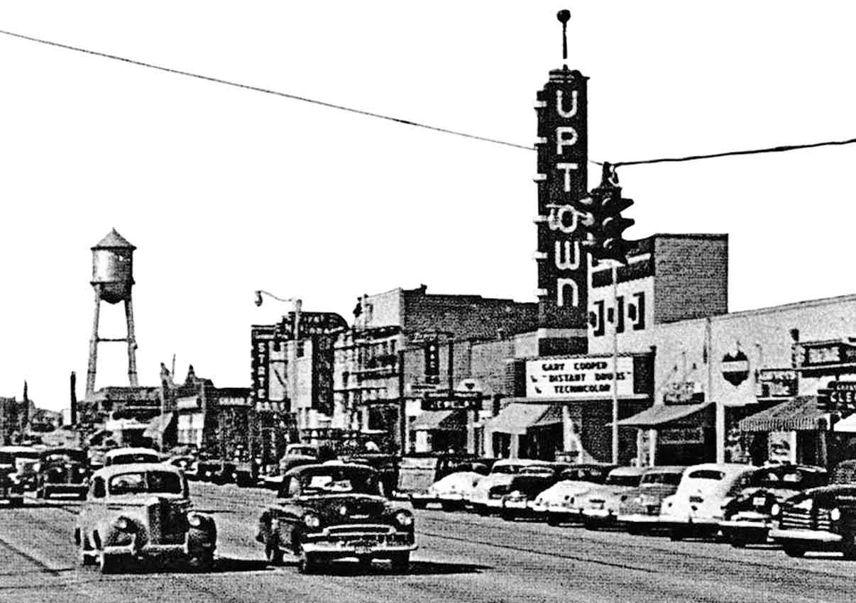 Historic Images Uptown Theater Grand Prairie Texas Google