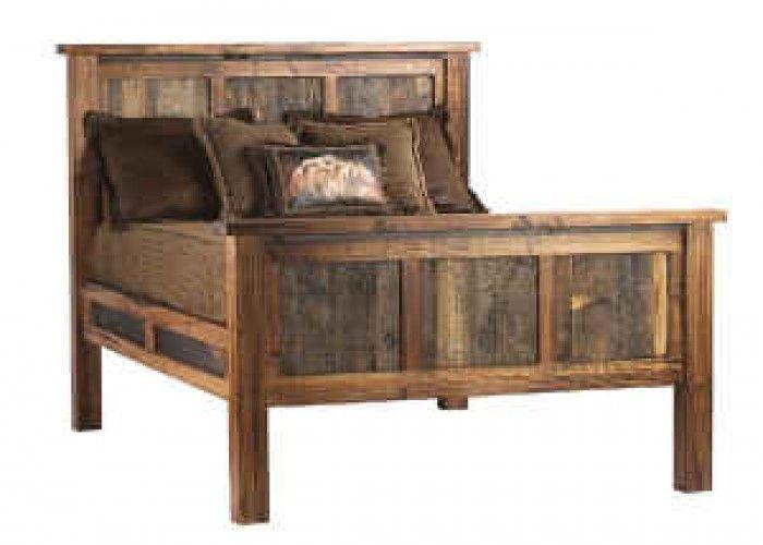 Barn Wood Bed Frames Queen Bedframe Made Of Reclaimed Barnwood