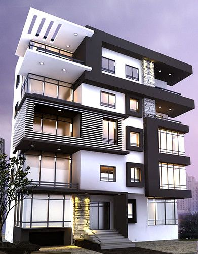 48 Best Modern Apartment Architecture Design 48 House Design Enchanting Apartment Building Design