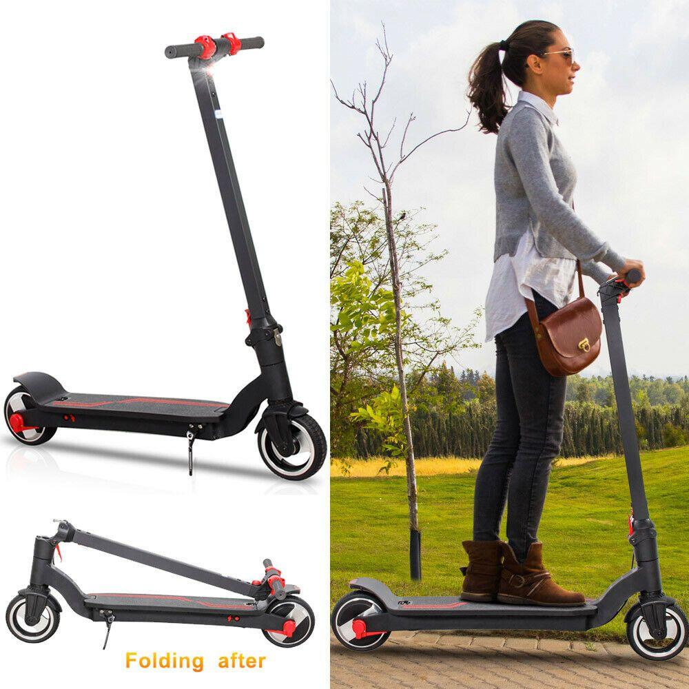 Advertisement Ebay Folding Electric Scooter 250w Aluminum Anti