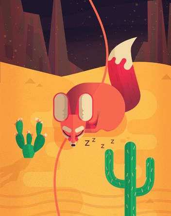 Owen Davey - Two Dots Downloadable App Game by Folio Art, via Behance