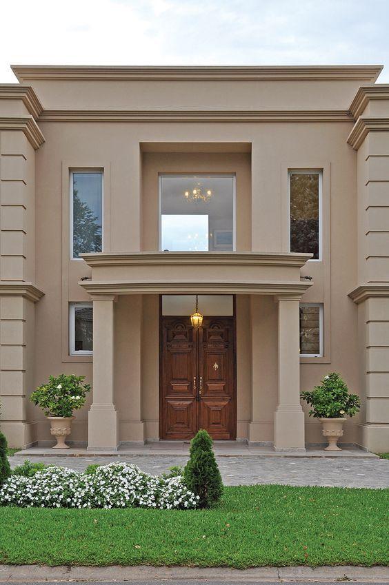 Pavloff regalini asociados estudio de arquitectura - Fachadas de casas pintadas ...