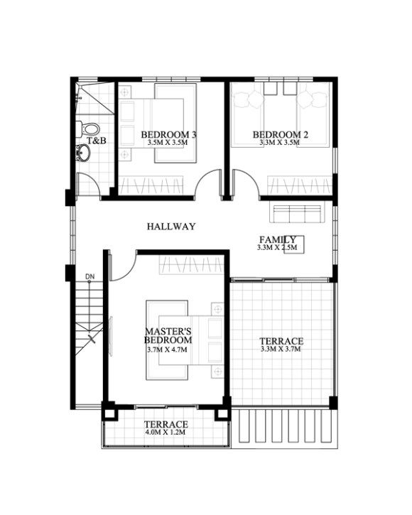 Modern house designs series features  bedroom story design the ground floor car garage dining kitchen and also best blueprints images in rh pinterest