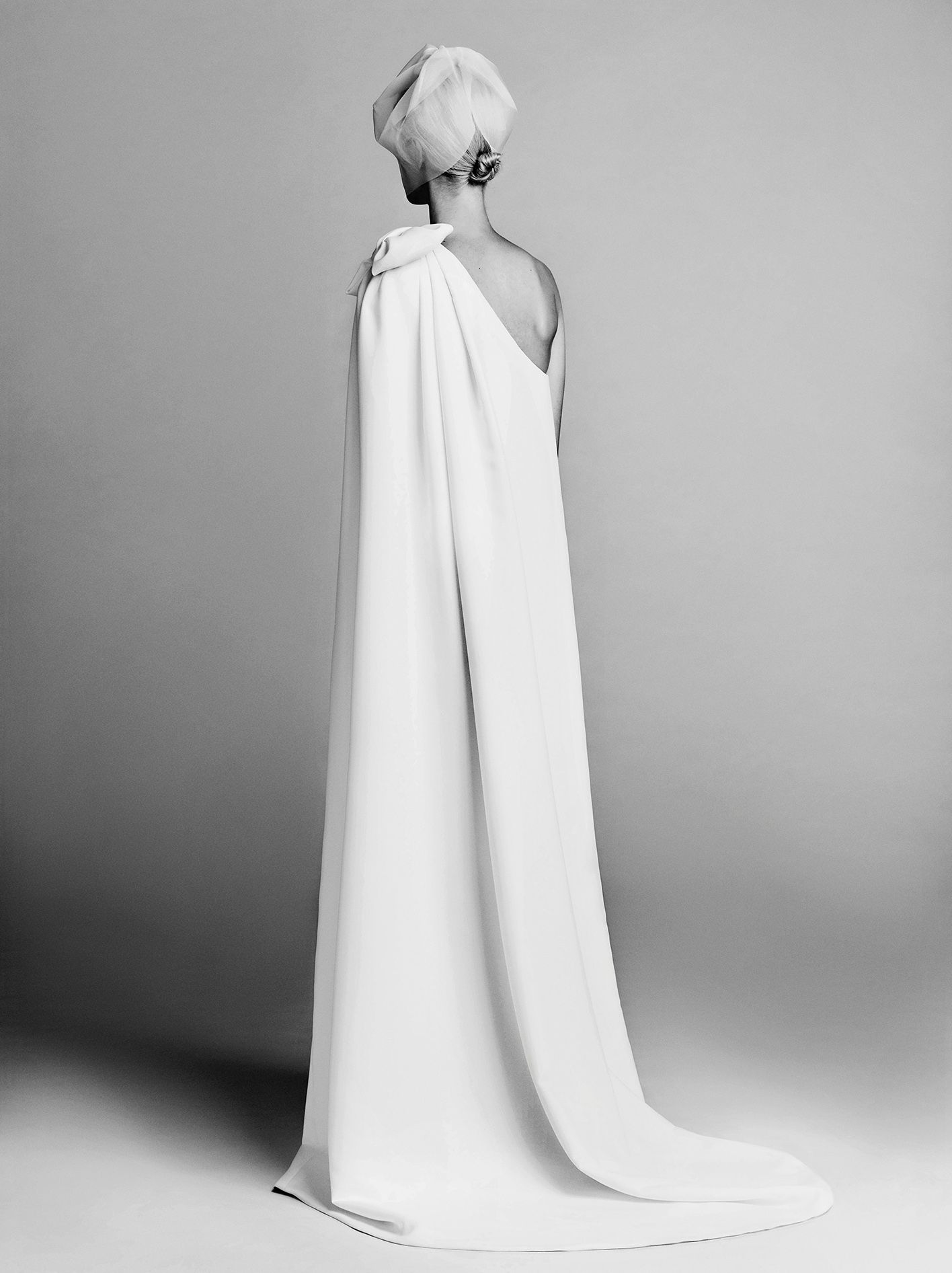 Wedding dress with bow on back  BOW CAPE DRESS BACK  all things bridal  Pinterest  Cape Viktor