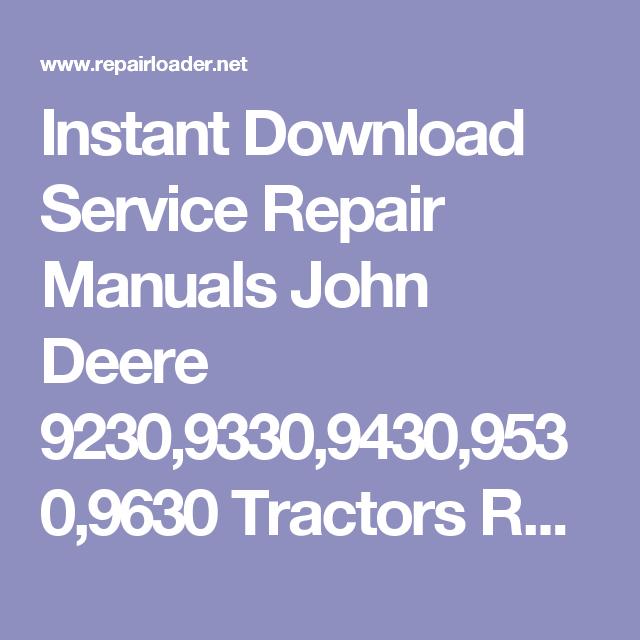 Instant Download Service Repair Manuals John Deere 102 115 125 135 – John Deere 6310 Wiring Diagram