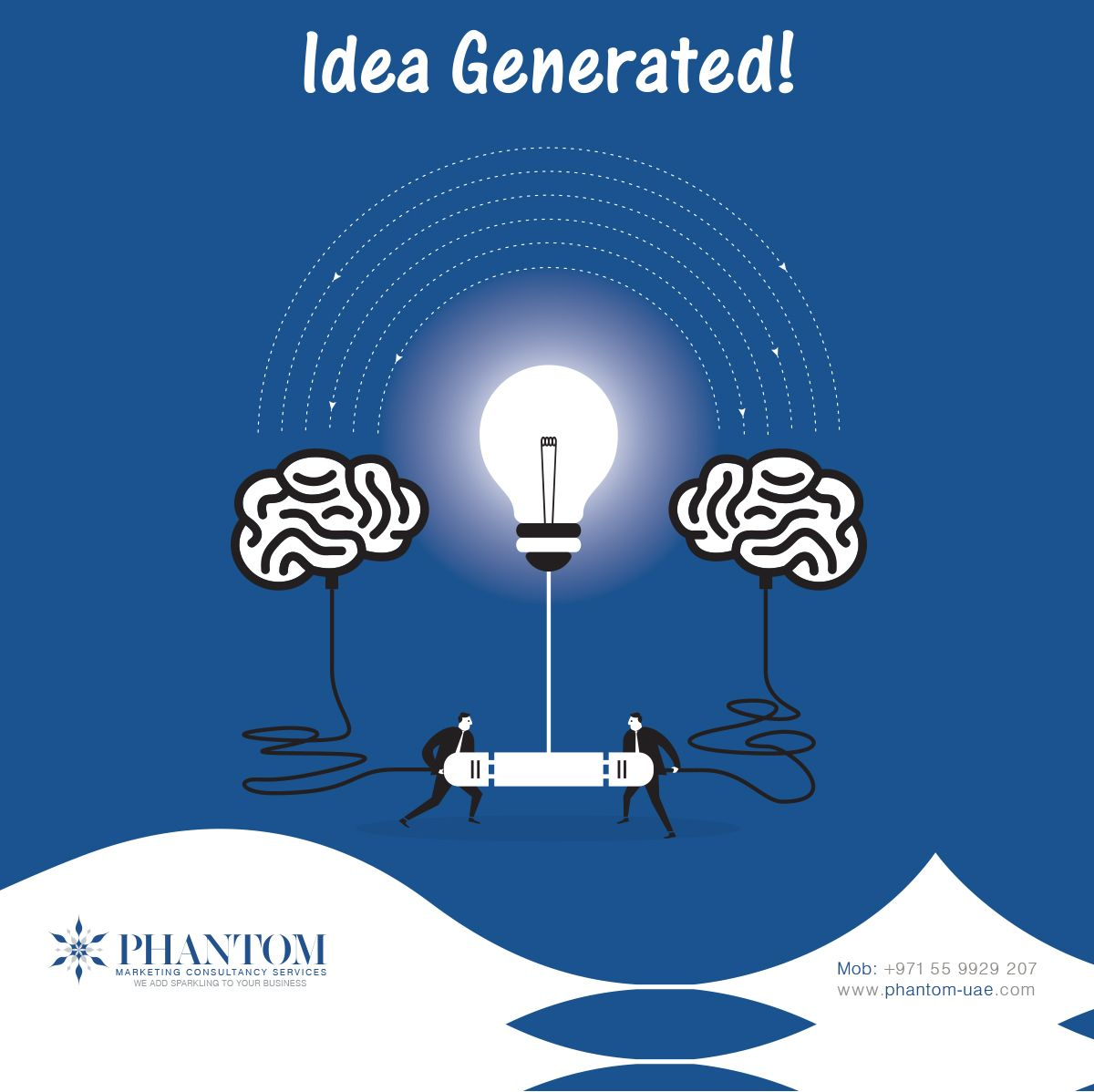 Think in your own creative way for a day! www.phantom-uae ...