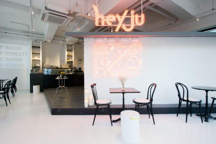 Hey Ju Baking Studio Dessert Cafe By Nordic Bros Design Community Cheonan South Korea Patisserie Hotels And Restaurants